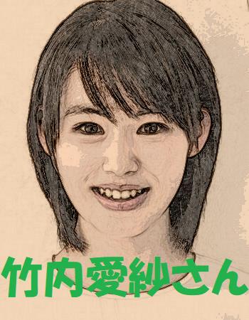 竹内愛紗さんのイラスト